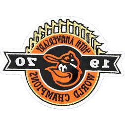 1970 World Champions 40th Anniversary Baltimore Orioles Patc