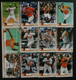 2019 Topps Series 1 Baltimore Orioles Team Set 12 Baseball C