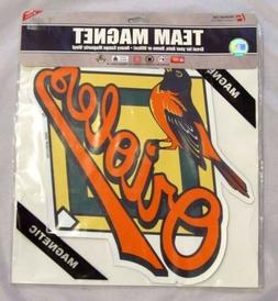 "AWESOME BALTIMORE ORIOLES *BIG* 12"" MAGNET CAR AUTO FRIDGE M"