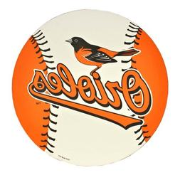 Baltimore Orioles MLB 12 inch Vinyl Magnet Set Of 2