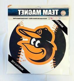 "Baltimore Orioles 12"" Car/Truck Auto Office Team Logo Magnet"