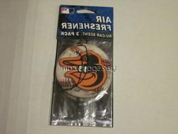 Baltimore Orioles 3 Pack Air Freshener
