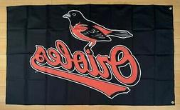 Baltimore Orioles 3x5 ft Indoor/Outdoor Flag MLB