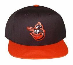 MLB Baltimore Orioles American Needle Snapback Hat Cap-Black