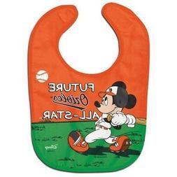 Baltimore Orioles Baby Bib Disney Mickey Mouse Feeding Infan
