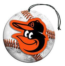 Baltimore Orioles Baseball Air Freshener Vanilla Scent 3 Pac