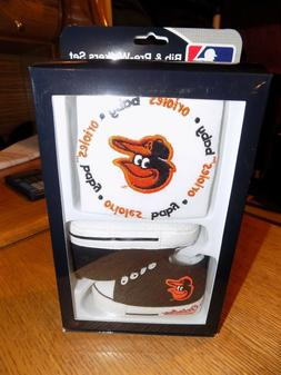 BALTIMORE ORIOLES BIB AND HIGH-TOP PRE-WALKERS SET NWT