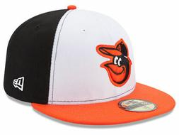New Era Baltimore Orioles HOME 59Fifty Fitted Hat  MLB Cap