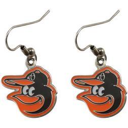 Baltimore Orioles J Hook Logo Earrings