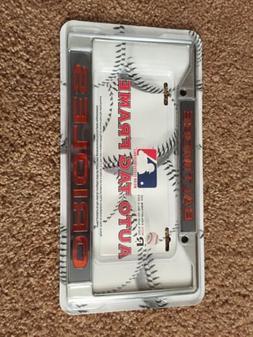 Baltimore Orioles LBL Metal Chrome License Plate Tag Frame C