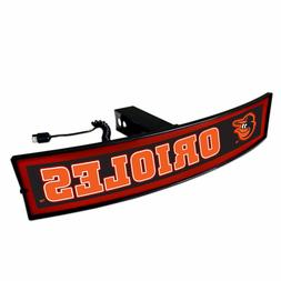 Baltimore Orioles Light Up Hitch Cover - LED Illuminated Tra