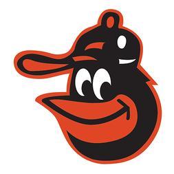 Baltimore Orioles Logo Baseball Car Bumper Window Wall Decal