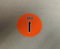 Baltimore Orioles Magnets Fridge Magnet - #1 Dad -  4 Inch -