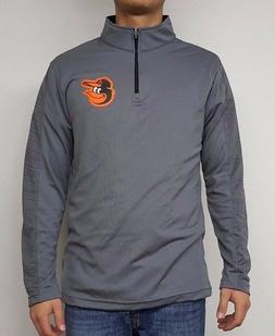 Baltimore Orioles Men's Long Sleeve Polyester T-shirt by Maj