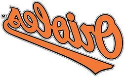 Baltimore Orioles MLB Baseball Car Bumper Window Sticker Dec