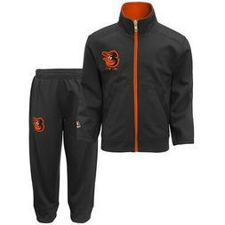 "Baltimore Orioles MLB ""Home Plate"" Full Zip Jacket & Pants S"
