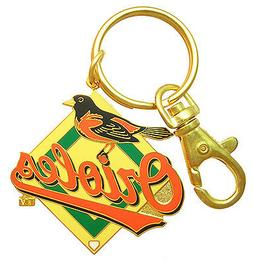 Baltimore Orioles MLB Logo Key Chain