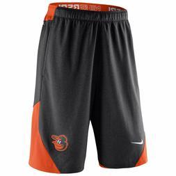 Baltimore Orioles MLB Mens NIKE Black Shorts M L XL XXL Base