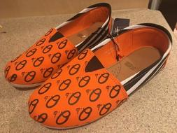 Baltimore Orioles MLB Pattern Slip On Canvas Shoes Slippers/