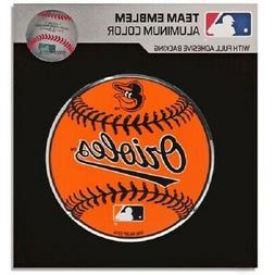 Baltimore Orioles MLB Team Emblem color Aluminum baseball