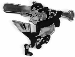 Baltimore Orioles Plastic Chrome 3D Emblem Automotive Car Tr