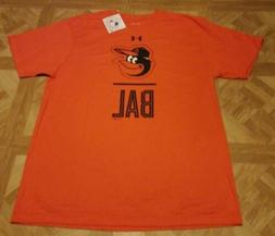 Under Armour Baltimore Orioles T-Shirt MLB Men's Orange/Blac
