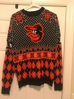 Baltimore Orioles Ugly Sweater Christmas MLB S Novelty NWT