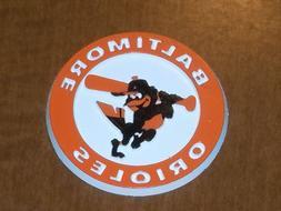BALTIMORE ORIOLES Vintage Old MLB RUBBER Baseball FRIDGE MAG