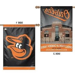 Baltimore Orioles WC Premium 2-sided 28x40 Banner Outdoor Ho