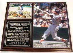 Brooks Robinson #5 Baltimore Orioles Photo Plaque Hall of Fa