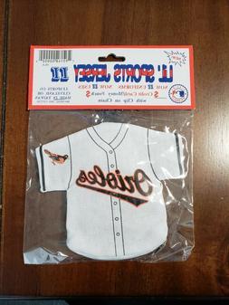J.F. SPORTS - MLB LICENSED JERSEY KEY CHAIN - BALTIMORE ORIO