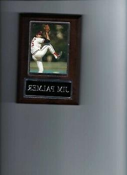 JIM PALMER PLAQUE BASEBALL BALTIMORE ORIOLES O's MLB