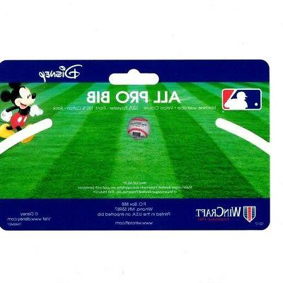 Baltimore Orioles Bib Disney Mickey Feeding Infant MLB