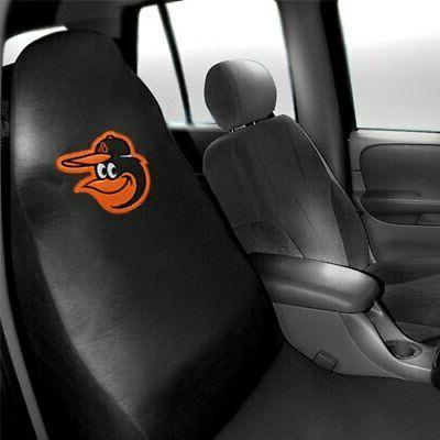 baltimore orioles car seat cover black
