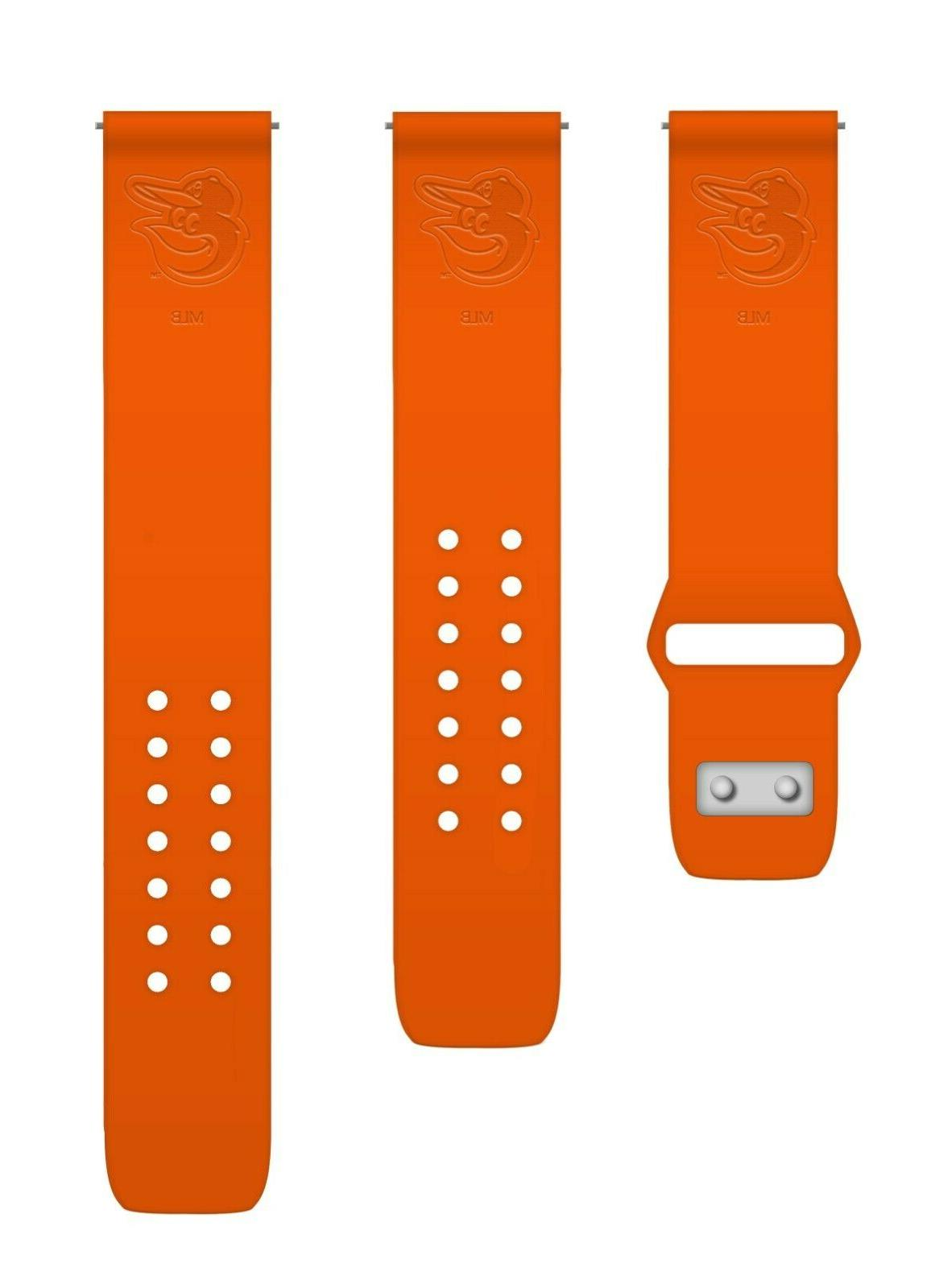 Baltimore Deboss Silicone Watch