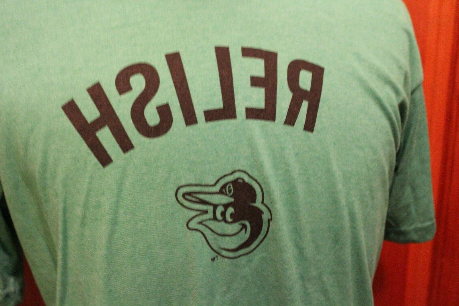 Baltimore Orioles Hotdog Racing Ketchup, Relish, Shirts -- M XL