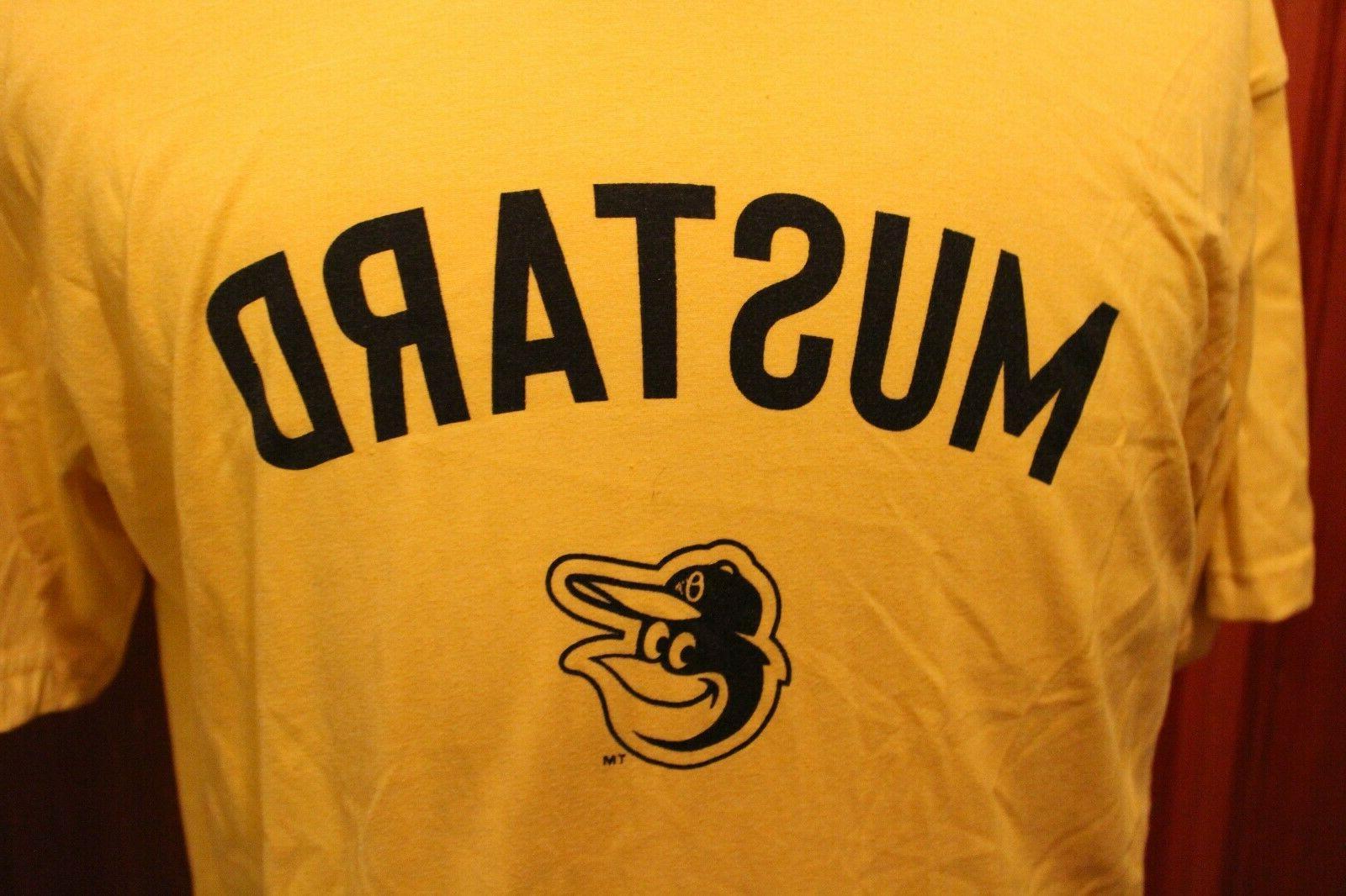 Baltimore Orioles Hotdog Racing Ketchup, Relish, or Shirts or XL