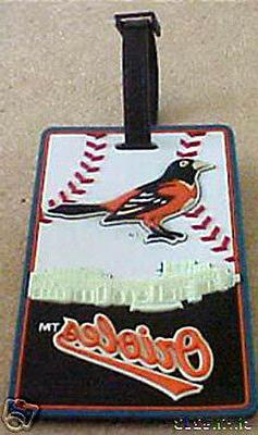 Baltimore Orioles  ID Luggage Back Pack ID Tag NEW