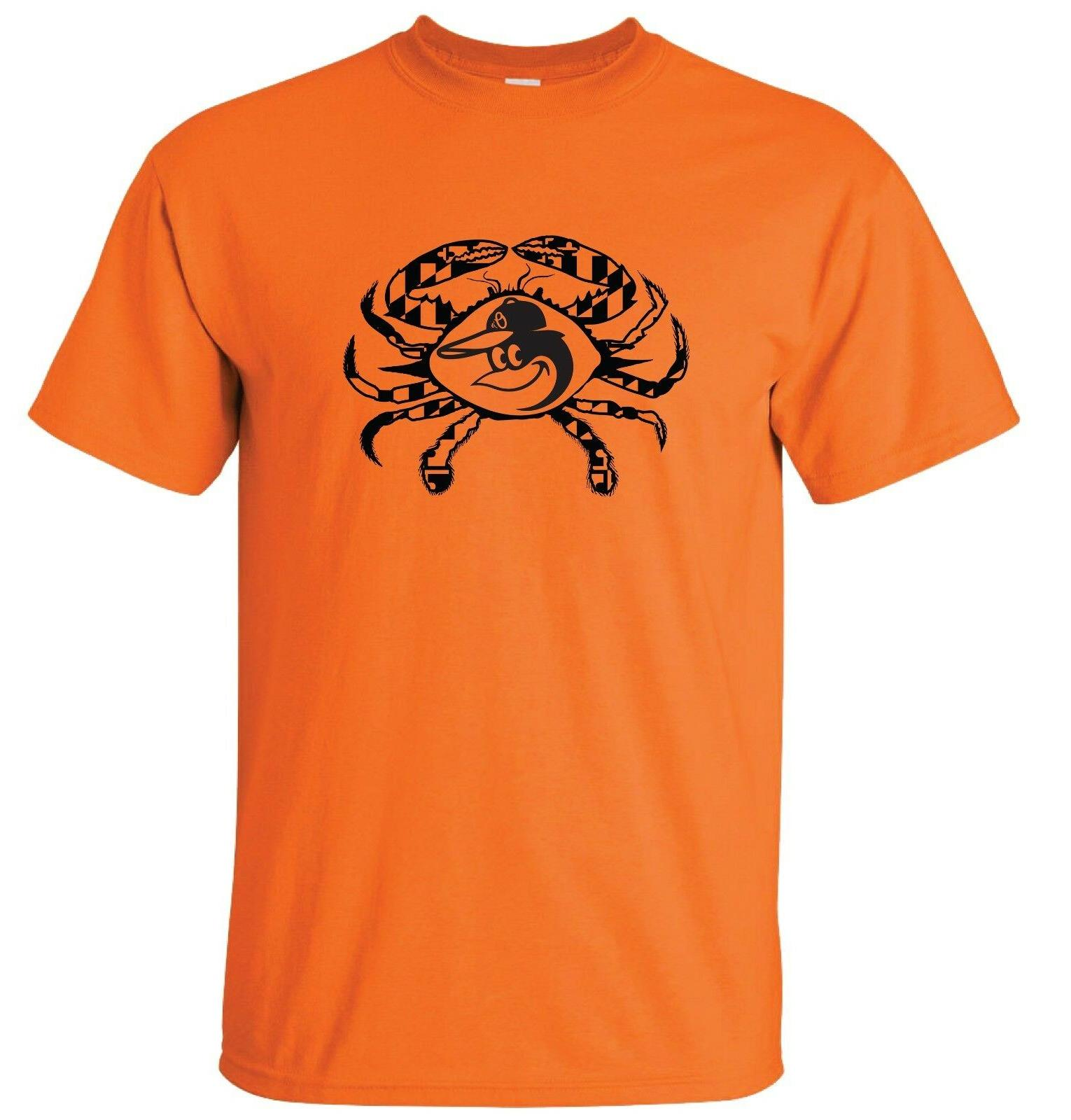 baltimore orioles maryland crab t shirt up