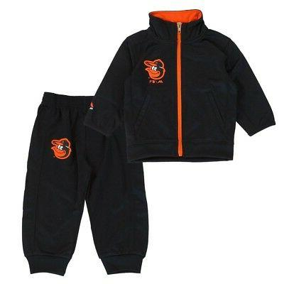 baltimore orioles mlb full zip track jacket