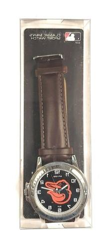 Baltimore Premium Classic Logo Watch Leather