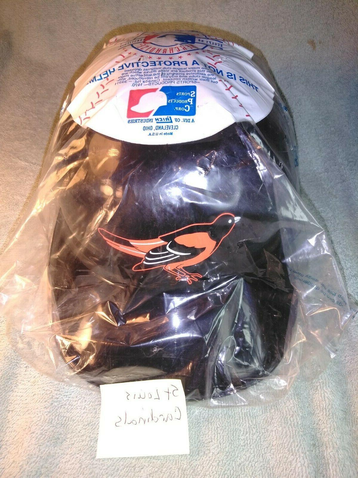 baltimore orioles souvenir plastic baseball helmet mlb