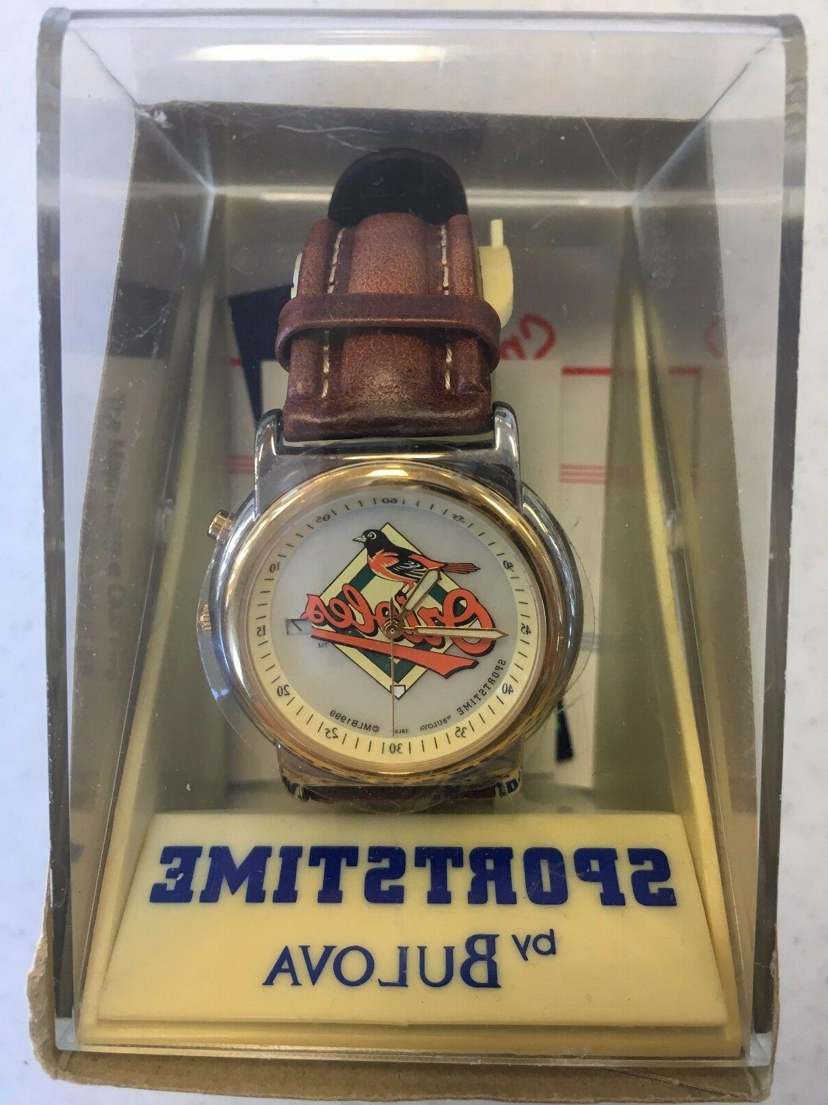 baltimore orioles wrist watch great holiday gift