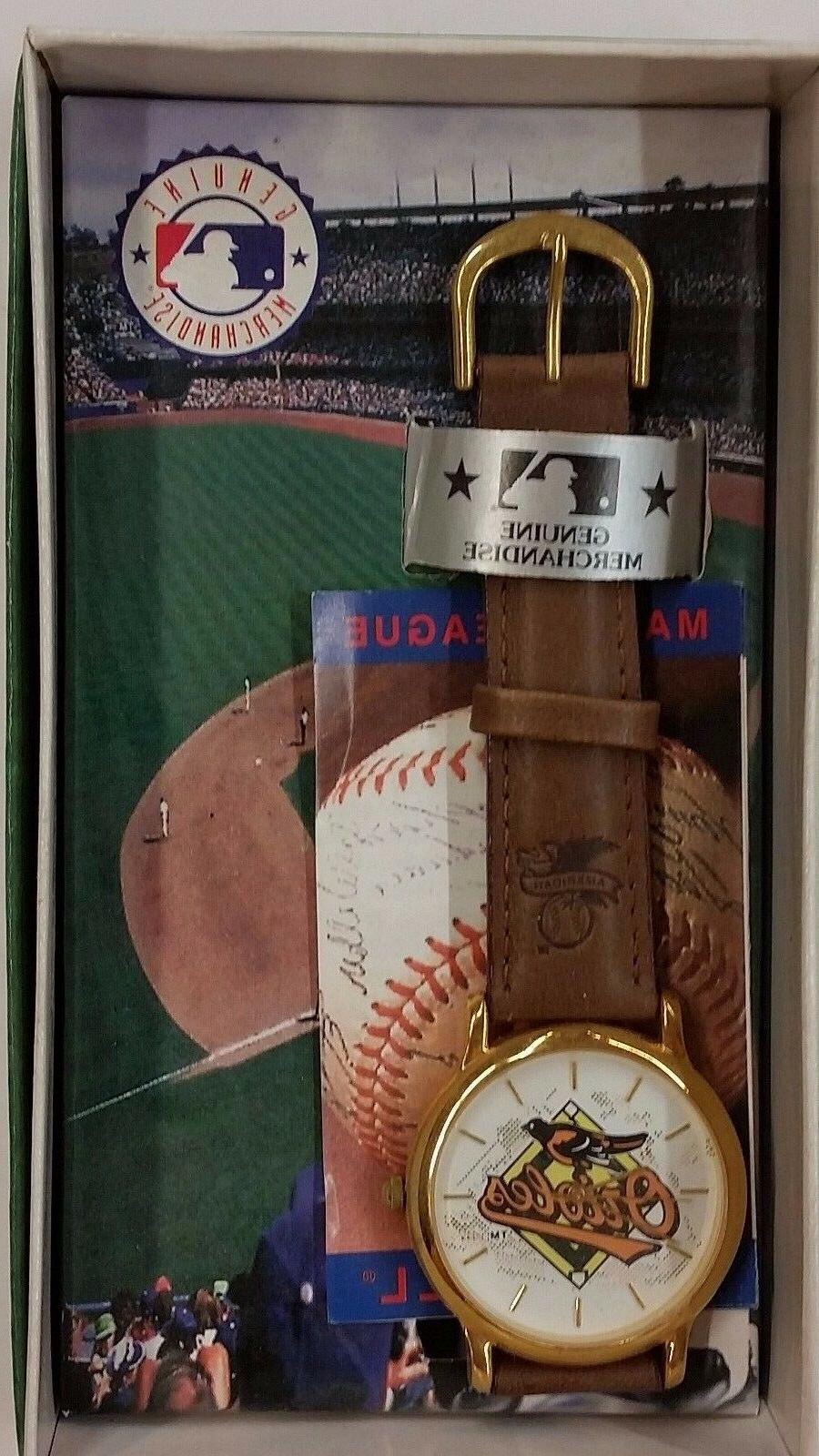 mlb baltimore orioles watch new a004br orioles