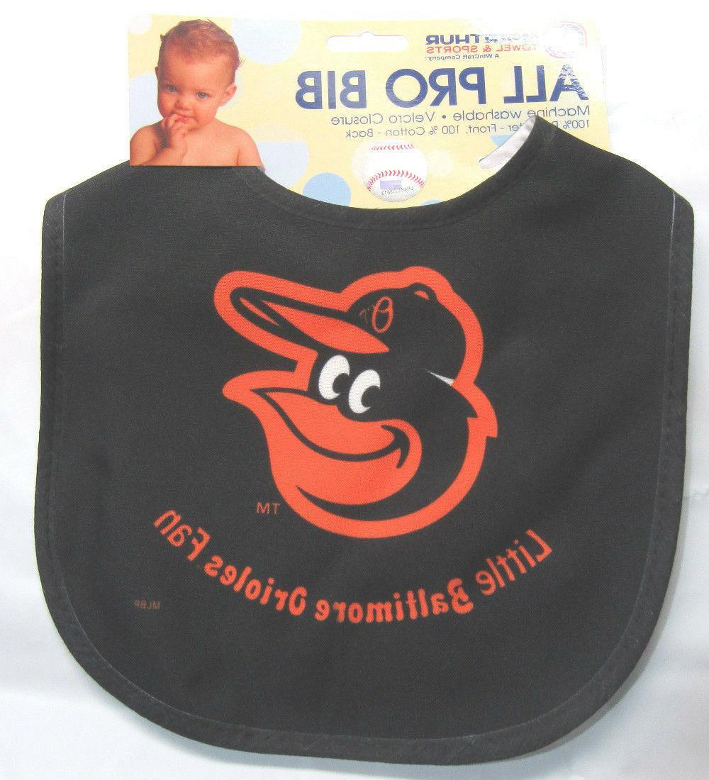 mlb nwt infant all pro baby bib
