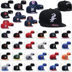 Luxury Embroidered MLB Teams Logo Baseball Cap Adjustable Sn