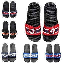 Men's MLB Stripe Legacy Sport Slide Sandal Flip Flops