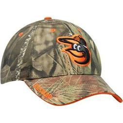 Men's Mossy Oak Camo Baltimore Orioles Team Adjustable Hat