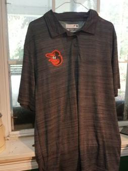 True Fan Mens Small Baltimore Orioles Polo New W/o Tags. Fre