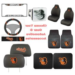 MLB Baltimore Orioles Choose Your Gear Auto Accessories Offi